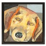 View Image 1 of Beagle Oil Painting