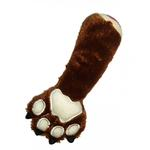 View Image 1 of Bear Claw Plush Dog Toy by Hip Doggie