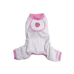 View Image 1 of Berry Design Dog Pajamas - Pink