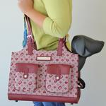 View Image 2 of Betty Boop Dog Carrier - Red