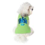 View Image 1 of Big Attitude Small Body Dog T-Shirt - Lime