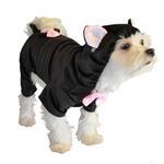 View Image 1 of Black Cat Halloween Dog Costume