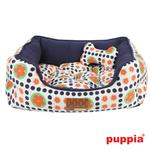 View Image 1 of Blossom House Dog Bed by Puppia - Navy