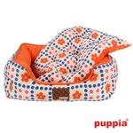 View Image 4 of Blossom House Dog Bed by Puppia - Orange