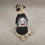 View Image 1 of Born to be Wild Dog T-Shirt - Black