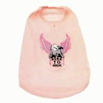 View Image 1 of Born to Ride Eagle Tank Top - Pink