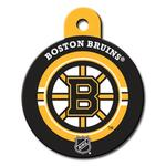 View Image 1 of Boston Bruins Engravable Pet I.D. Tag