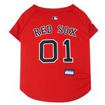 Boston Red Sox Officially Licensed Dog Jersey - Red