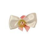View Image 2 of Breast Cancer Ribbon Hair Bow