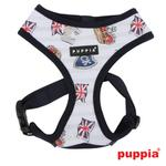 View Image 1 of Britannia Dog Harness by Puppia - Navy