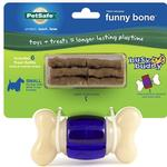 View Image 1 of Busy Buddy Funny Bone Dog Toy