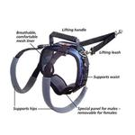 View Image 1 of CareLift Pet Lifting Harness - Rear Only