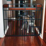 View Image 5 of Carlson Design Studio Expandable Dog Gate with Small Pet Door