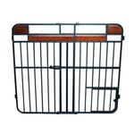 View Image 6 of Carlson Design Studio Expandable Dog Gate with Small Pet Door