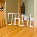 View Image 1 of Carlson Mini Dog Gate with Pet Door