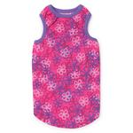 View Image 2 of Carolina Dog Tank Top - Raspberry