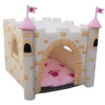 View Image 1 of Castle Dog House - Pink