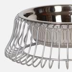 View Image 2 of Castro Dog Bowl - Platinum