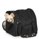 View Image 3 of Casual Canine Backpack Pet Carrier - Black