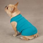 Casual Canine Basic Ribbed Dog Tank Top - Bluebird