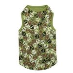 View Image 2 of Bone Heads Dog Tank - Green