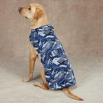 View Image 2 of Casual Canine Camo Barn Dog Coat - Blue