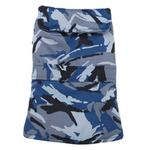View Image 1 of Casual Canine Camo Barn Dog Coat - Blue