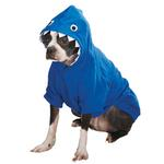 View Image 2 of Casual Canine Lil' Monster Dog Hoodie - Blue