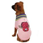 View Image 2 of Casual Canine Lil Monster Dog Sweater - Pink
