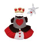 View Image 2 of Casual Canine Queen of Hearts Dog Costume