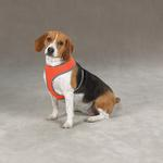 View Image 1 of Casual Canine Reflective Mesh Harness - Orange