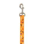 View Image 1 of Casual Canine Spooky Dog Leash - Orange