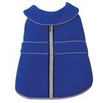 View Image 3 of Casual Canine Thermal Fleece Dog Jacket - Blue