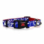 View Image 2 of Xtrm Logo Dog Collar - Blue