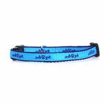 View Image 1 of Casual Kitty Adopt Cat Collar - Blue