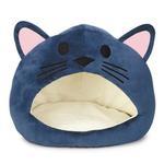 Cat is Good Cat Cave Bed - Blue