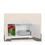 View Image 2 of Cat Washroom Bench - White