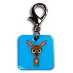 View Image 1 of Chachi the Chihuahua Dog Collar Charm