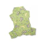 View Image 2 of Chasing Stars Cotton Dog Pajamas by Klippo