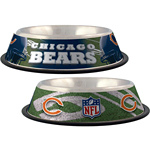 View Image 1 of Chicago Bears Dog Bowl