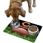 Chicago Bears Pet Bowl Mat