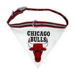 View Image 1 of Chicago Bulls Dog Collar Bandana
