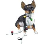 View Image 1 of Chihuahua Sitting Christmas Ornament - Tri Color