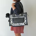 View Image 2 of City Girl Designer Dog Tote - Sir Foxalot