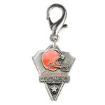View Image 1 of Cleveland Browns Pennant Dog Collar Charm