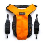 View Image 2 of Clickit Utilty Dog Harness by Sleepypod - Orange Dream