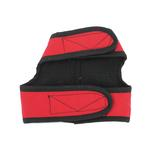 View Image 2 of Cloak & Dawggie Harness Vest with Black Fleece Lining - Red