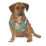 View Image 1 of Cloak & Dawggie Step-N-Go Harness - Mod Floral with Turquoise