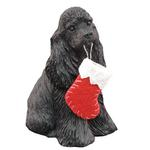 View Image 1 of Cocker Spaniel Christmas Ornament - Black