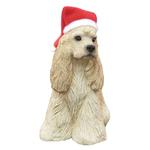 Cocker Spaniel Christmas Ornament - Buff
